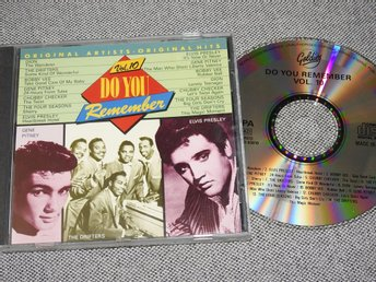 Do you remember Vol. 10 CD - Dion,Drifters,Gene Pitney,Elvis,Bobby Vee