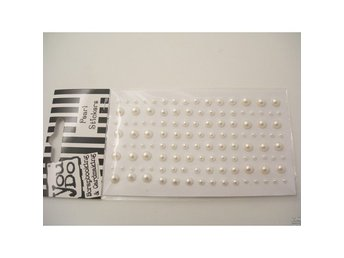Pearl Stickers White 120 st