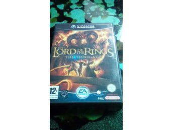 Lord of the Rings the third age Gamecube spel GC
