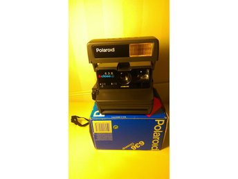 Polaroid 636 closeup Instant camera kamera original kartong manual