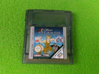 Atlantis The Lost Empire Gameboy Game Boy Color - Hägersten - Atlantis The Lost Empire Gameboy Game Boy Color - Hägersten