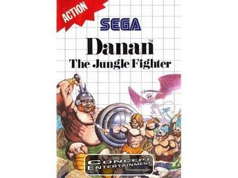 DANAN - THE JUNGLE FIGHTER (komplett) till Sega Master System