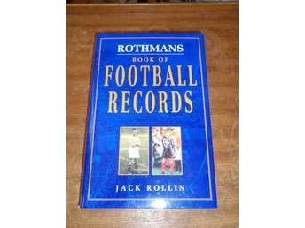 Rothmans - Book Of Football Records - Jack Rollin