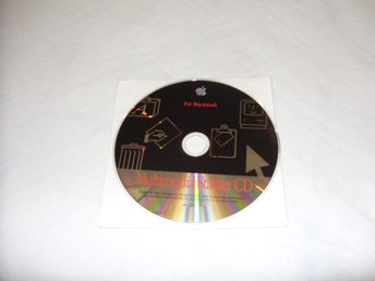 Apple Macintosh Multimedia Starter CD ROM 1993-1994
