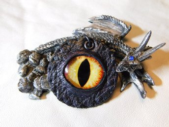 Draköga Hänge Dragon Eye Pendant Nr 4  ( 50 mm )