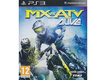 MX vs ATV Alive (PS3)