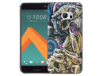 HTC 10 Skal Alien Skelett