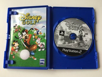PS2 - Disney Golf - Tv-Spel
