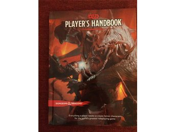 Dungeons & Dragons Player's Handbook 5e Edition