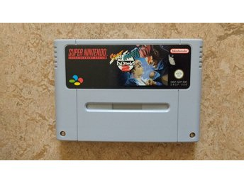 Super Nintendo/SNES: Street Fighter Alpha 2 II (EUR)