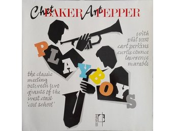 LP Chet Baker Art Pepper  The classic meeting...