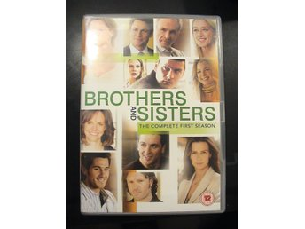 BROTHERS AND SISTERS Hela Säsong 1 / 6-DISC DVD / SVENSK TEXT