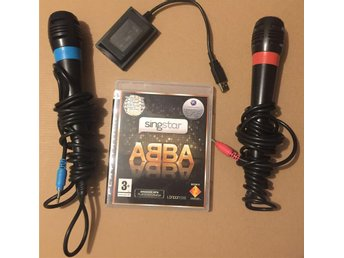 Playstation 3 - Singstar ABBA + 2 Mikrofoner , Till PS3
