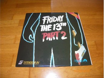 Friday the 13TH part 2 - 1st laserdisc