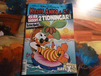KALLE ANKA & C:O, 1991 NR 28, TIDNING - Anderstorp - KALLE ANKA & C:O, 1991 NR 28, TIDNING - Anderstorp