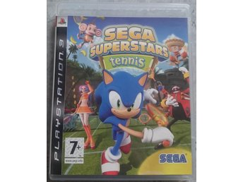 Playstation 3 PS3 spel Sonic the Hedgehog Sega Superstars Tennis HELT NY