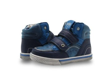 Barnskor strl 35 with fur for boy Spring & Autumn Sneakers blue