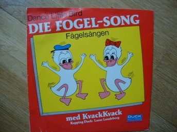 "KVACK KVACK ""DIE FOGEL-SONG""."