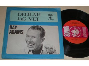 Ray Adams 45/PS Delilah 1968