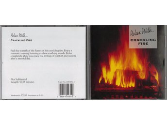 Relax With... Crackling Fire CD