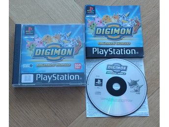 PlayStation/PS1: Digimon World