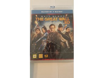 The Great Wall 3D + Vanlig BluRay * Inplastad *