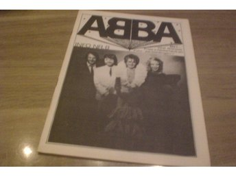 ABBA Info Rare fanclub Mag Early 80's