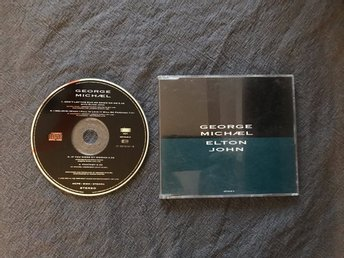 GEORGE MICHAEL & ELTON JOHN - Dont let the sun go down on me - 1991 - MAXI CD