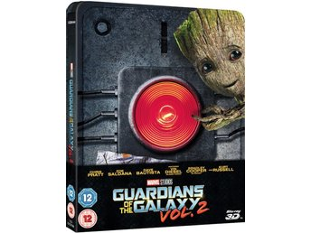 Guardians of the Galaxy Vol. 2 3D (+2D) - Limited Edition Steelbook Blu-ray
