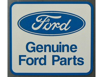 Klistermärke Dekal Ford Genuine Parts