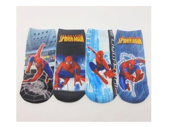 Disney Spiderman 4 Par strumpor , Spindelman Socks 18 cm.