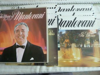 THE MAGIC OF MANTOVANI , LP, LP-SKIVA