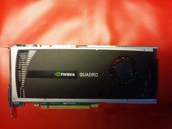 NVIDIA Quadro 4000, GF100, 2048 M, Bytes of GDDR5 SDRAM, PCIe v1.1 x16 - örnsköldsvik - NVIDIA Quadro 4000, GF100, 2048 M, Bytes of GDDR5 SDRAM, PCIe v1.1 x16 - örnsköldsvik