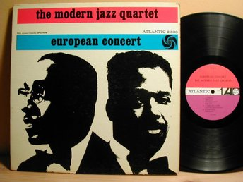 The Modern Jazz Quartet - European Concert 2-Lp