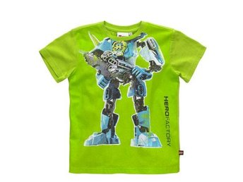 LEGO HERO FACTORY T-SHIRT, GRÖN / LIME (140)