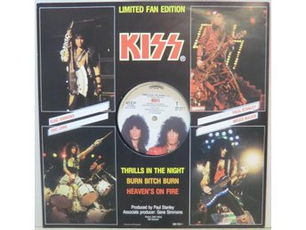 Kiss-Thrills in the night +2 / Limited Fan Edition 12""