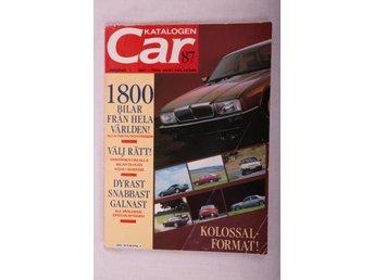 Car Katalogen 1987 - åshammar - Car Katalogen 1987 - åshammar