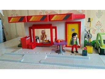 Playmobil Rastplats med kiosk - Gnesta - Playmobil Rastplats med kiosk - Gnesta