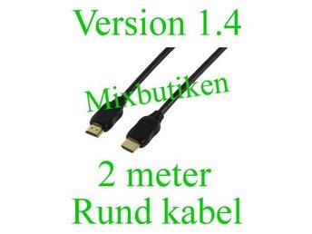 2 meter version 1.4 /1080p HDMI-kabel. Guldpläterad, High Speed m. Ethernet - Forsbacka - 2 meter version 1.4 /1080p HDMI-kabel. Guldpläterad, High Speed m. Ethernet - Forsbacka