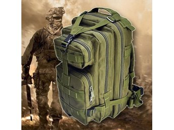 3P Military Tactical Backpack - Army Green ryggsäck