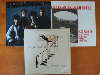 "3LP Little Red Schoolhouse (12""), Nena och Tricky Track"