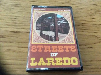 STREETS OF LAREDO kassett country