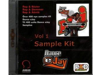 Javascript är inaktiverat. - Lund - NRJ Dance eJay - Sample Kit Vol.1 / NYTT inplastat NRJ Dance eJay - Sample Kit Vol.1 är ett oanvänt i original och ligger i en inplastad CD-ask. Över 400 samplingar med Rap och Röster. OBS! Det krävs något av eJays ljudprogram för att kunna  - Lund