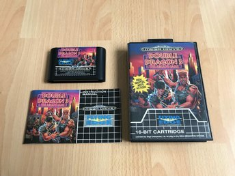 Double Dragon 3 CIB - Sega Mega Drive