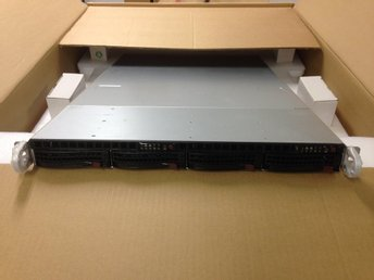 Supermicro SYS-6016TT-INFF Twin node 4x L5640 48GB
