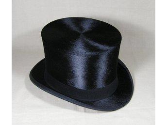 Stormhatt cylinderhatt hög hatt (337187213) ᐈ Quriosum på Tradera 01eeb5f329c0e