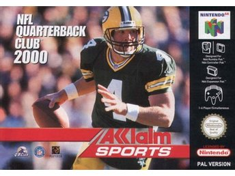 NFL Quarterback Club 2000 (ITA Manual) - Nintendo 64