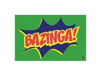 Big Bang Theory Affisch Bazinga Icon A77