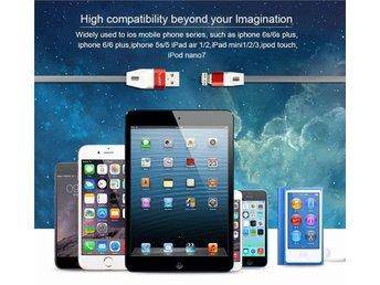 Aluminium Laixi Kabel iPhone 6 6Plus 6s 6 Fast Charging Lifetime warranty - Eskilstuna - Aluminium Laixi Kabel iPhone 6 6Plus 6s 6 Fast Charging Lifetime warranty - Eskilstuna