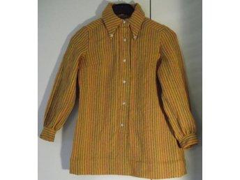 Klänning Tunika Orange Mortimer Vintage London 1960-tal - Väddö - Klänning Tunika Orange Mortimer Vintage London 1960-tal - Väddö